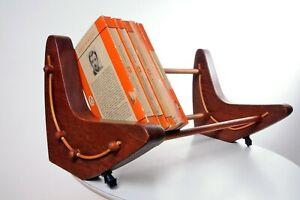 Retro Mid Century Book trough Boomerang Book Stand 1960's 1970's Danish