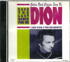 DION CD - Save The Last Dance For Me - BRAND NEW