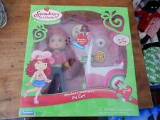 2006 Strawberry Shortcake Lemon Meringue's Pie Cart NEW
