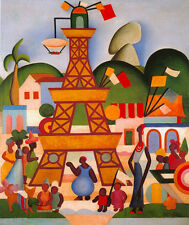Carnaval em Madureira    by Tarsila do Amaral  Giclee Canvas Print Repro