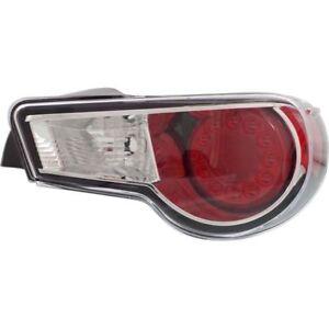 New CAPA Tail Light (Passenger Side) for Scion FR-S SC2819109C 2013 to 2016