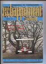 revue ECHAPPEMENT n°9  mai 1969 editions sud  Essais C.G  type B 1200 R8 gordini