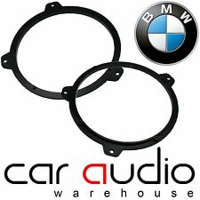 "BMW 3 Series E46 99-06 6.5"" 17CM Rear Shelf Speaker Ring Adaptors PAIR CT25BM06"