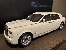 1/18 KYOSHO Rolls-Royce Phantom EWB English White KS08841EW