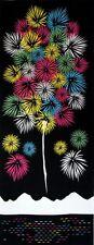 Japanisches Handtuch - Tenugui Hanabi - Feuerwerk 90×35cm Aus Kyoto ,Japan