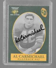 1992 Champion AL CARMICHAEL Green Bay Packers Hall of Fame Hand Signed Autograph