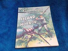 Commando ISLAND OF HORROR No 1180 1977 9pC/P War Story Picture Comic Book