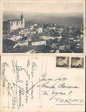 COCCONATO IN PRIMA FILA,VIAGGIATA 1923 -F.P.PIEMONTE(AT) N.43647