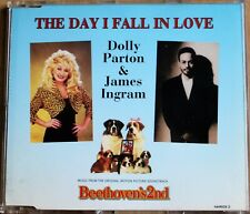 DOLLY PARTON & JAMES INGRAM THE DAY I FALL IN LOVE RARE UK CD EP BEETHOVEN'S 2nd