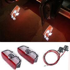 Led Lights R LINE Door Projectors  Logo For VW GOLF 5 6 7 GTI PASSAT B6 B7 JETTA