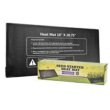 "Seedling Plant Heat Mat 10""x20.75"" Starter Pad Germination Propagation Clone110V"
