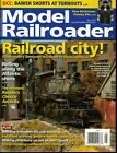 Model Railroader Magazine May 2019 Railroad City Urban scenery steam-to-diesel