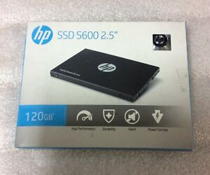 "HP S600 2.5"" 120 GB SATA III 3D NAND Internal Solid State Drive 4FZ32AA#ABC"