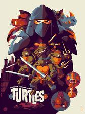 "Teenage Mutant Ninja Turtles 18"" x 24″ Poster Print by Tom Whalen Ed 300"