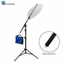 "73""/185cm LimoStudio Reflector Holder Arm Support & Light Stand for Photography"