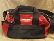 "Craftsman 12"" inch Tool Bag Storage Pouch Organizer Carrying Case Tote"