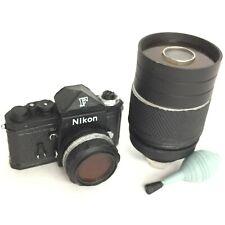 Time Slip Glico Miniature Figure Camera Nikon F Black Kaiyodo Japan
