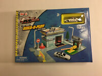 Maisto Fresh Metal Build N Play Police Station Playset NEW!! Includes Police Car