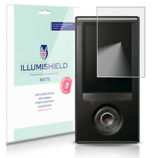 iLLumiShield Matte Screen Protector w Anti-Glare/Print 3x for Samsung Bloggie 3D