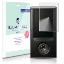 iLLumiShield Matte Screen Protector w Anti-Glare/Print 3x for Samsung Bloggie 3D