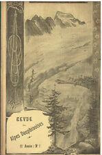 Revue des Alpes Dauphinoises 12e Année N°8 : La montagne des Agneaux - 1910