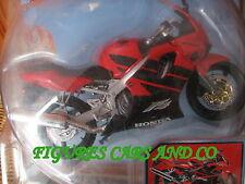 1/12 MOTO HONDA CBR 600F 4i ROUGE 2000 NEWRAY
