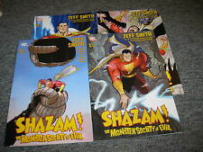 DC Comics Shazam! The Monster Society of Evil Set of 4 BRAND NEW Jeff Smith