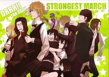 "Durarara!! Doujinshi "" STRONGEST MARCH "" Shizuo"