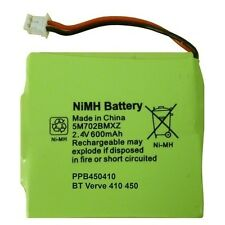 Brand New UK Battery for a BT Verve 410 450 Phone GP 5M702BMXZ 2.4V 600mAH NIMH