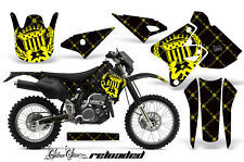Suzuki DRZ400S DRZ 400 S Graphics Kit Dirt Bike Wrap MX Decals 00-16 RELOAD YLW