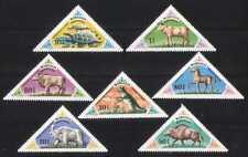 Mongolia 1977 Dinosaurios/reptiles/animales 7 V Set (b4362)
