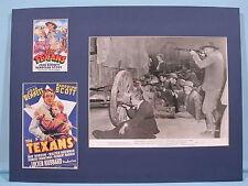 Randolph Scott in the Texans co-starring Joan Bennett and Walter Brennan