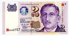 Singapore ... P-45 ... 2 Dollars ... 2000 ... CH*UNC*