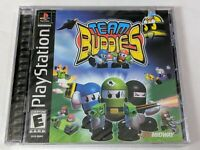 Team Buddies for PlayStation 1 PS1 PS2 2 - BRAND NEW FACTORY SEALED!