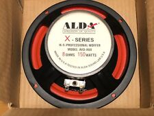 2x ALDA AWD X-60 WOOFER Pro Speaker 6,5 inch 150W, 8 Om, NEW, NOS MADE in USA