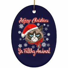 Christmas tree decorations - Cat Christmas Decor Ornament