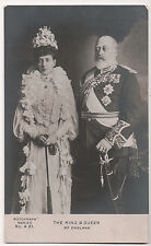 Vintage Postcard King Edward VII of England & Queen Alexandra