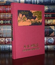 The War of the Worlds by H.G. Wells Illustrated Goble Deluxe New Cloth Bound Ed