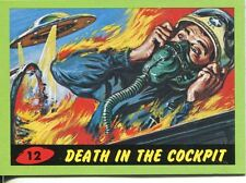 Mars Attacks Heritage Green Parallel Base Card #12    Death in the Cockpit