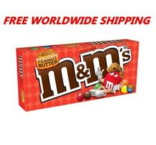 M&M's Peanut Butter Chocolate Candy 3 Oz FREE WORLDWIDE SHIPPING