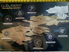 Game Of Thrones Scotch Whiskey Poster Man Cave Collector 22x15