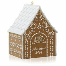 Hallmark Keepsake New Home 2014 Gingerbread Christmas Tree Holiday Ornament