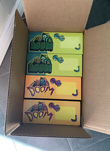 MF DOOM Collectible Masks - 4 Pack -  Green, Blue, Sludge, Mummy - Rhymesayers