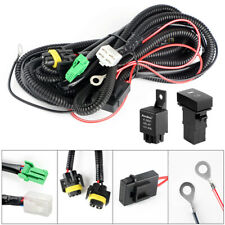 H11 Fog Light Wiring Harness Sockets Wire Switch LED Indicators For Toyota Honda