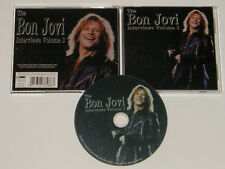 BON JOVI The Interviews Volume 3 Rare & deleted UK Interview Picture Disc Cd