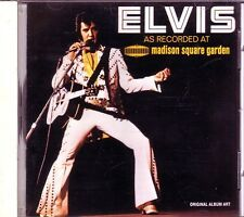 ELVIS As Recorded MADISON SQUARE GARDEN CD Classic Rock NEVER BEEN SPAIN LOVE