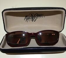 Preowned Authentic Maui Jim Sunglasses With Hard Case In Excellent Condition