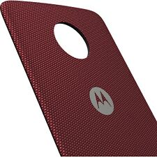 NEW Motorola Moto Style Shell Case for Moto Z Z2 Z3 Z4 - CRIMSON BALLISTIC RED