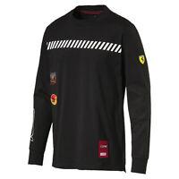 PUMA Scuderia Ferrari Street LS T-Shirt Men Tee Auto