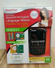 Franklin Speaking Spanish English Language Master Bes-4110 Dictionary Thesaurus